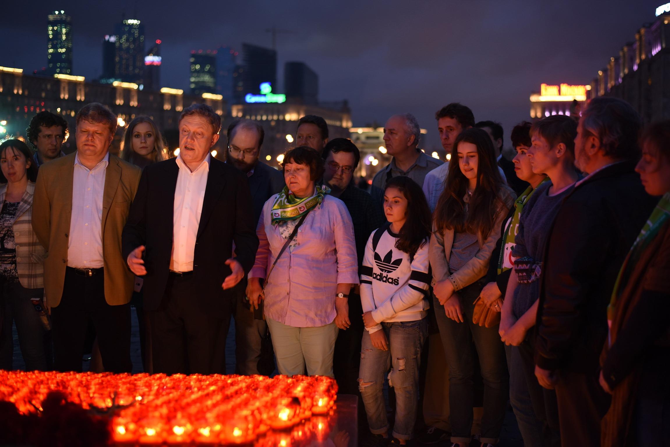 Акция 1418 свечей за каждый день войны. 21 июня 2015 года