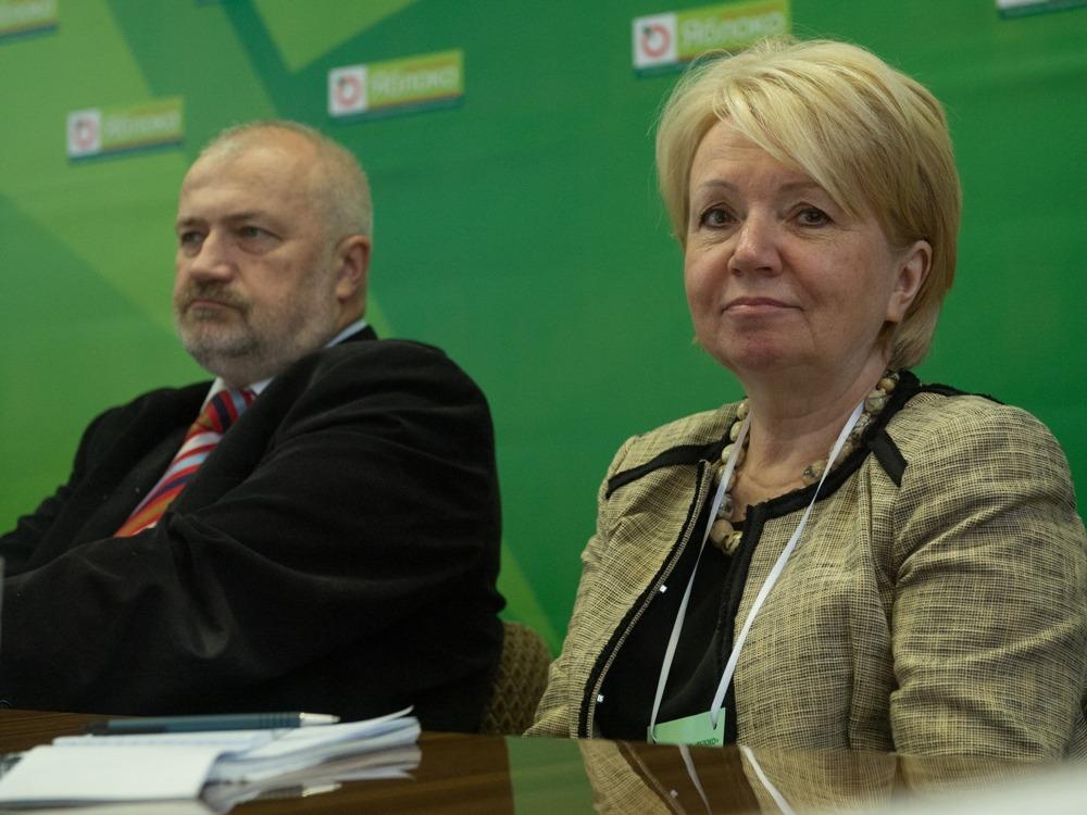 Михаил Амосов и Эмилия Слабунова